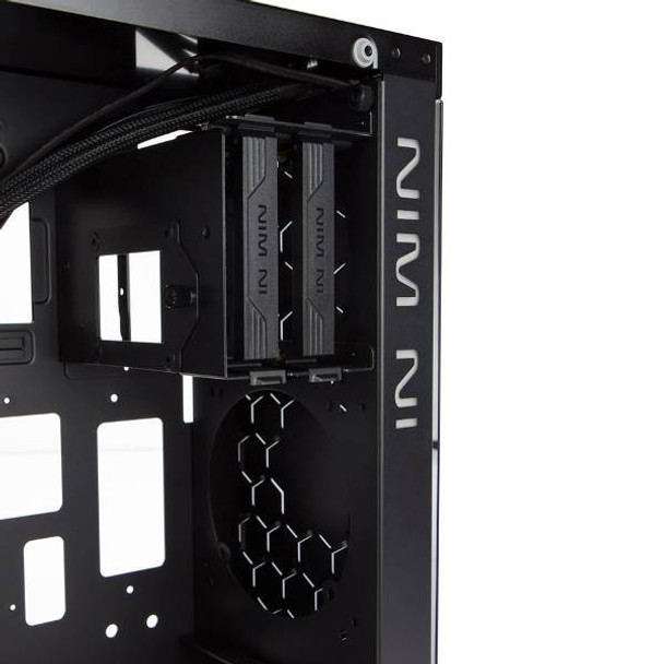 In Win 805C Tempered Glass Mid-Tower ATX Case - Black/Red Product Image 5