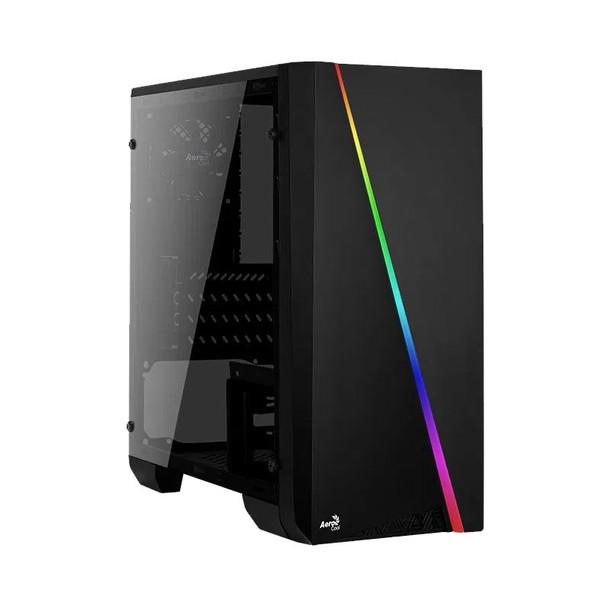 Image for Aerocool Cylon Mini Tempered Glass RGB M-ATX Mini-Tower Case - Black AusPCMarket