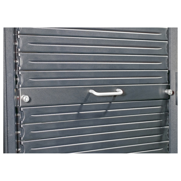 APC AR8136BLK 1U 19in Modular Toolless Airflow Management Blanking Panel - Qty 10 Product Image 2