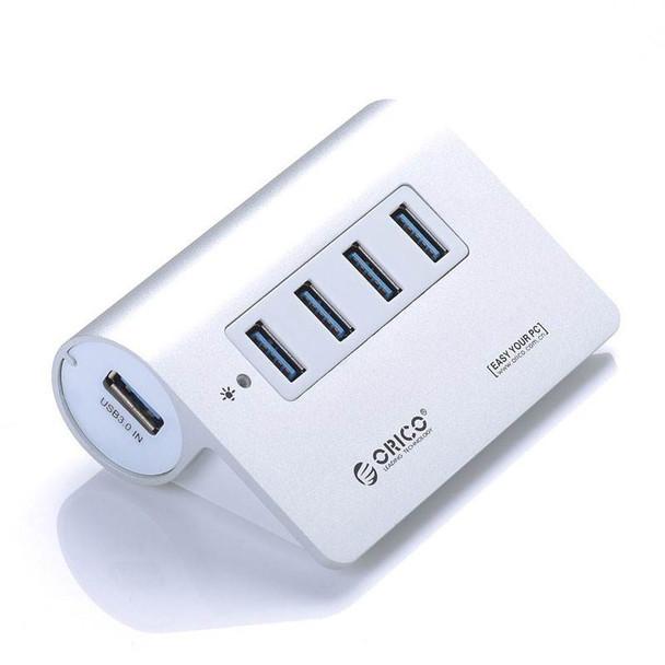 Image for Orico M3H4-SV 4-Port Super-Speed USB 3.0 Hub - Silver AusPCMarket