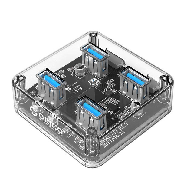 Image for Orico USB3.0 Transparent Desktop Hub AusPCMarket