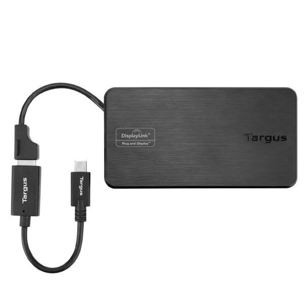 Targus USB 3.0 & USB-C Dual Travel Dock Product Image 4
