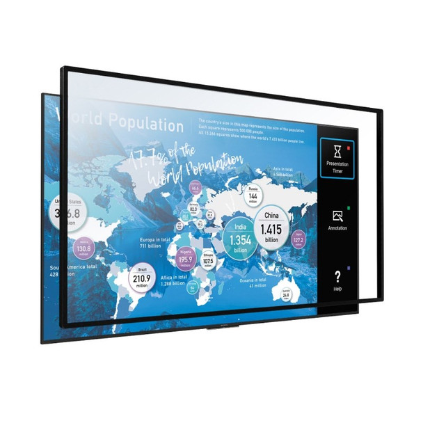 Image for Sony STP75IR100 Multi-Touch Overlay for Bravia 75in Professional Displays AusPCMarket