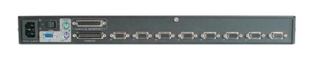 APC 8 Port Multi-Platform Analog KVM - KVM switch - PS/2 - 8 ports - 1 local use Product Image 2