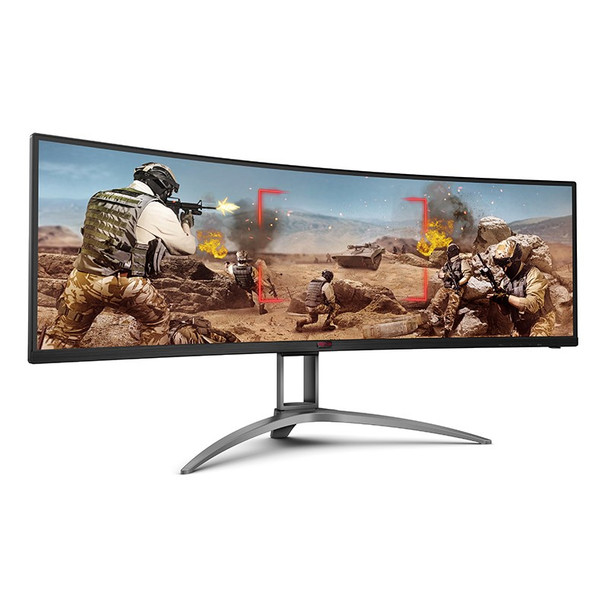 AOC AGON AG493UCX 49in 120Hz UWQHD FreeSync Premium Pro HDR Curved Gaming Monitor Product Image 5