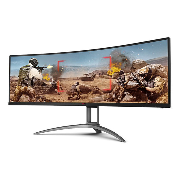 AOC AGON AG493UCX 49in 120Hz UWQHD FreeSync Premium Pro HDR Curved Gaming Monitor Product Image 6