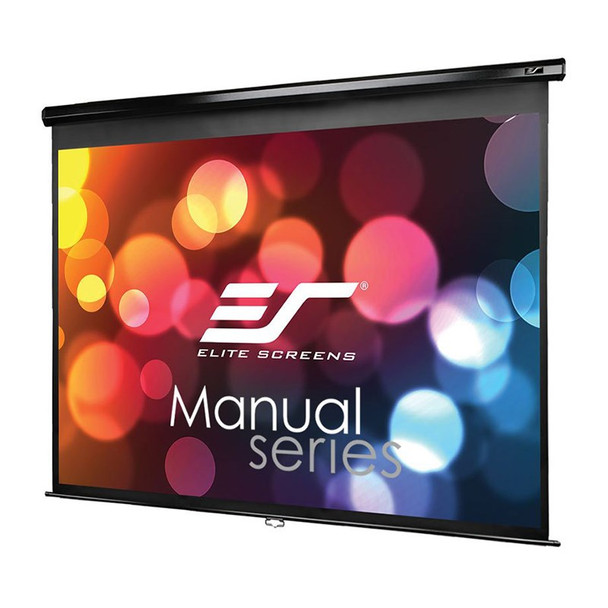 Image for Elite Screens Manual 150in 4:3 Pulldown Projection Screen - Black AusPCMarket