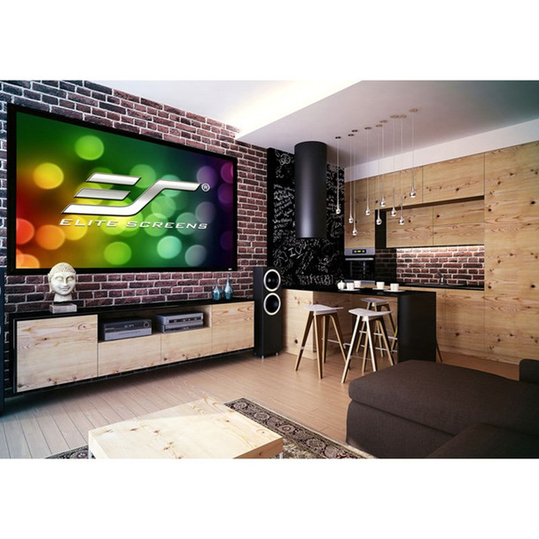 Elite Screens Sable Frame 2 120in 16:10 Fixed Projection Screen Product Image 3