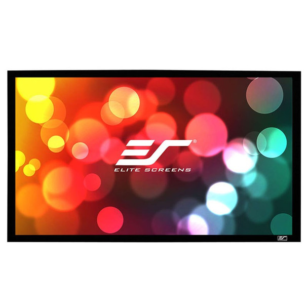 Image for Elite Screens Sable Frame 2 135in 16:9 Fixed Projection Screen AusPCMarket