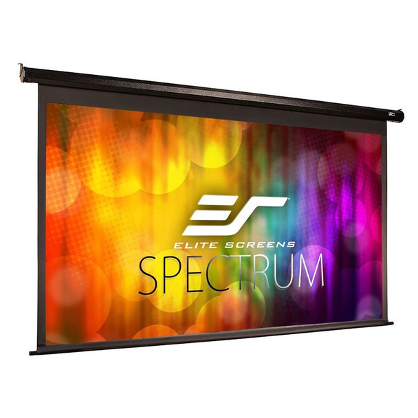 Image for Elite Screens Spectrum 100in 16:9 Motorised Projection Screen - Black AusPCMarket