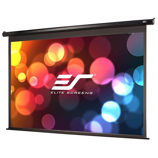 Image for Elite Screens VMAX2 110in 16:9 Motorised Home Theater Projection Screen - Black AusPCMarket