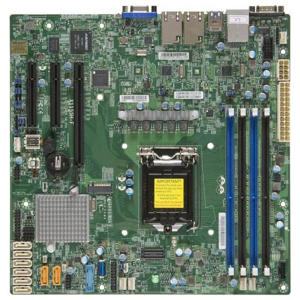 Image for Supermicro X11SSH-F LGA1151 Workstation Motherboard AusPCMarket