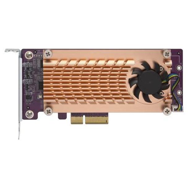 QNAP QM2-2S-220A Dual M.2 22110/2280 SATA SSD Expansion Card Product Image 3