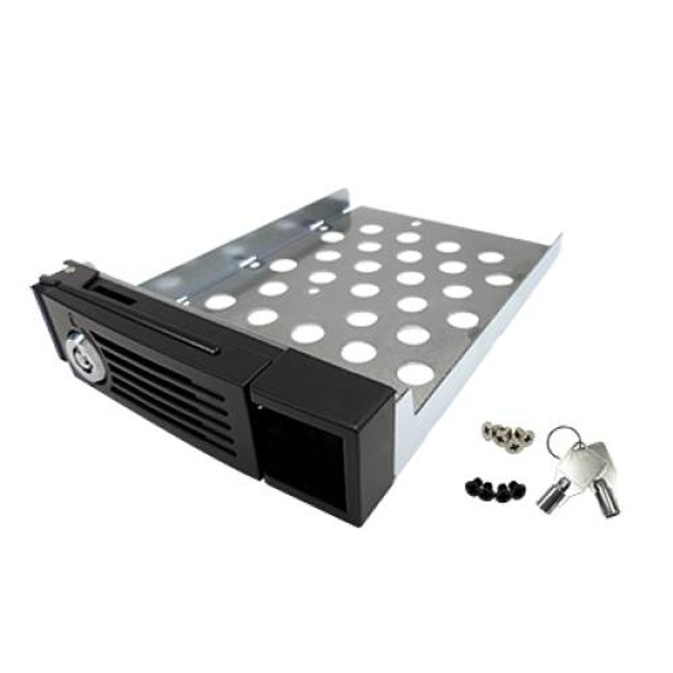 Image for QNAP SP-TS-TRAY 2.5in/3.5in Hot Swap HDD Tray - Black AusPCMarket