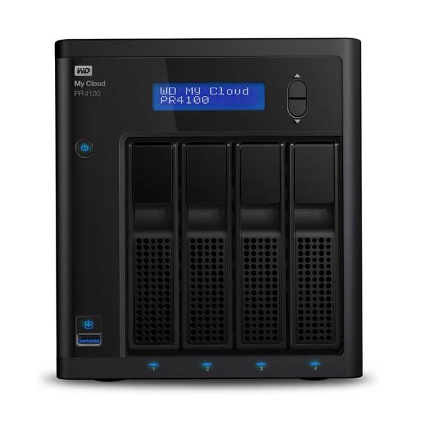 Image for Western Digital WD My Cloud PR4100 Pro Series Diskless 4-Bay NAS (WDBNFA0000NBK) AusPCMarket