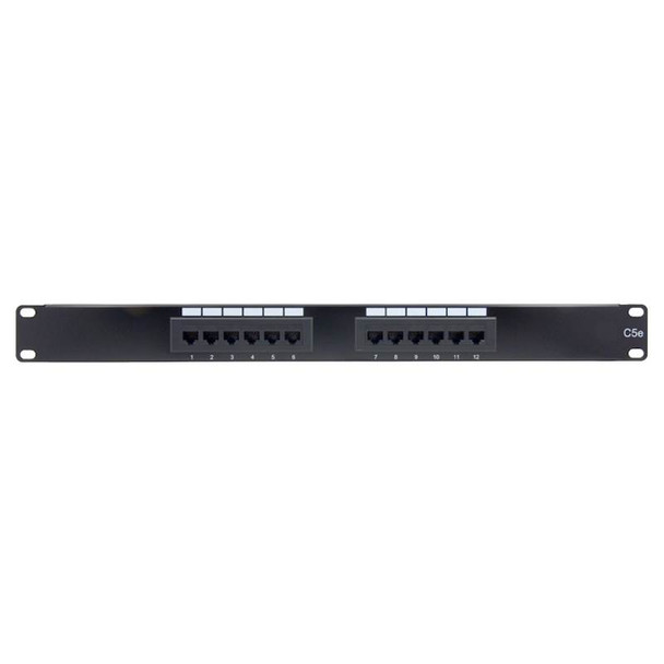 Image for Alogic 12 Port 1RU CAT5e Patch Panel AusPCMarket