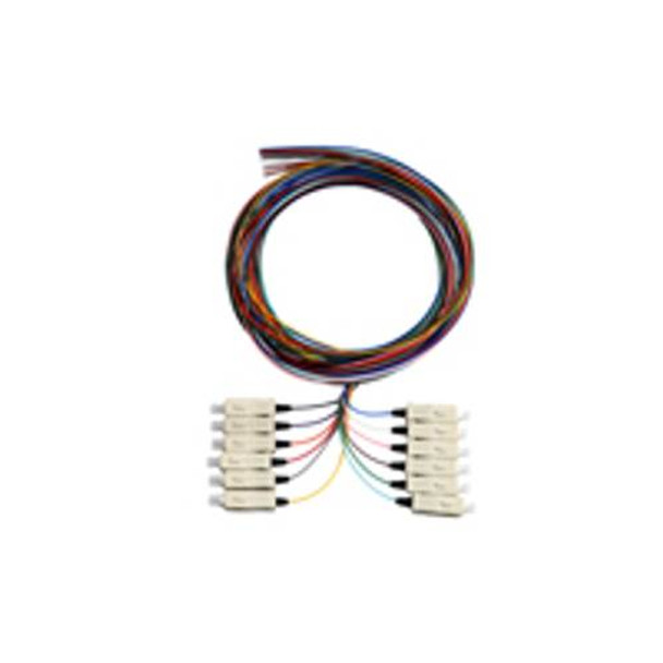 Image for Alogic 2m SC/APC Single Mode OS1 Pigtail 12 Pack Colour Coded AusPCMarket