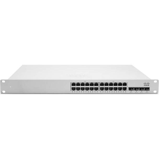 Image for Cisco Meraki MS350-24P L3 Stacking Cloud Managed 24 Port GigE 370W PoE Switch AusPCMarket