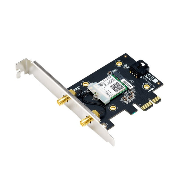 Asus PCE-AX3000 Dual Band WiFi 6 Bluetooth 5.0 PCI-E Adapter Product Image 2