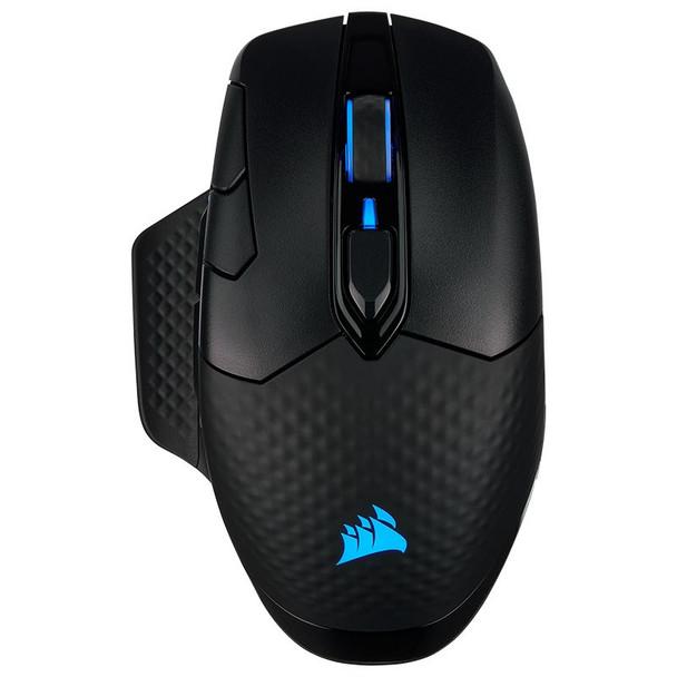 Corsair Dark Core RGB PRO SE Wireless Optical Gaming Mouse - Black Product Image 7