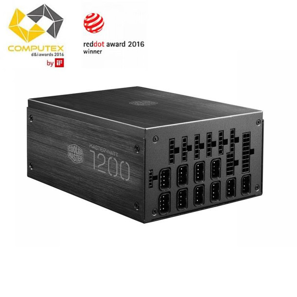 Image for Cooler Master MasterWatt Maker 1200W 80+ Titanium Modular Power Supply AusPCMarket