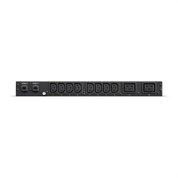 Image for CyberPower PDU20MHVCEE10AT 1U Horizontal 10-Outlet 16A Metered ATS PDU AusPCMarket
