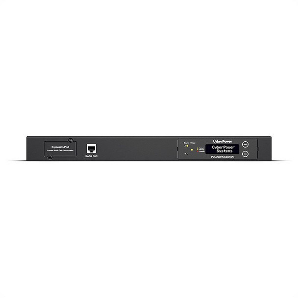 CyberPower PDU20MHVCEE10AT 1U Horizontal 10-Outlet 16A Metered ATS PDU Product Image 2