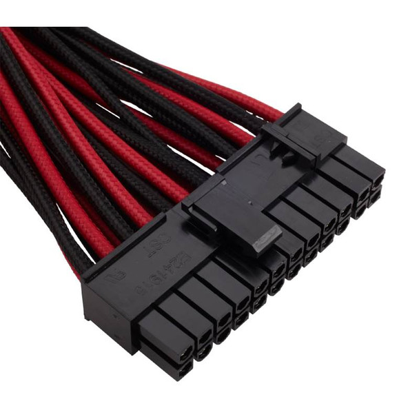Corsair DC Premium Sleeved Cable Pro Kit Type 4 Gen 3 - Red/Black Product Image 2