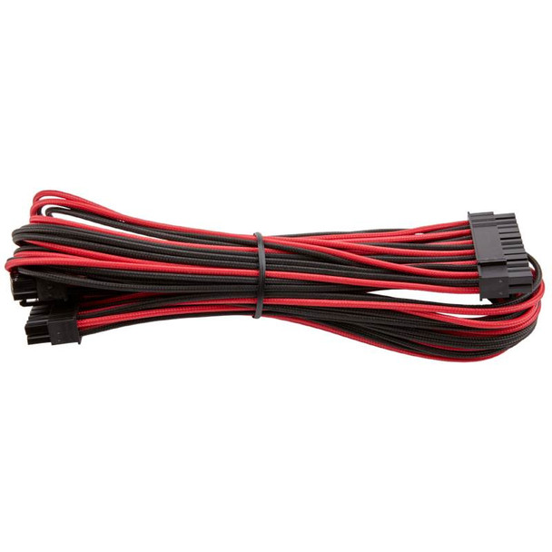 Corsair DC Premium Sleeved Cable Pro Kit Type 4 Gen 3 - Red/Black Product Image 16