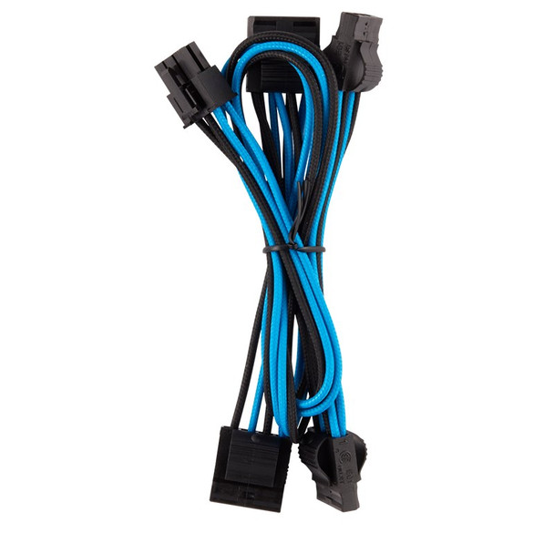 Corsair Premium Individually Sleeved PSU Cables Pro Kit - Blue/Black Product Image 9