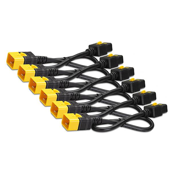 Image for APC AP8716S Power Cord Kit (6 ea), Locking, C19 to C20, 1.8m AusPCMarket