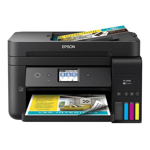 Image for Epson Workforce EcoTank ET-4750 A4 Wireless Colour Multifunction Inkjet Printer AusPCMarket