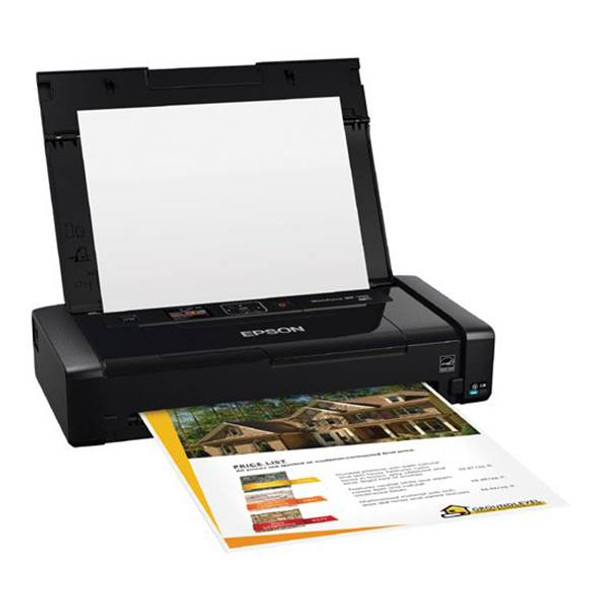Epson WorkForce WF-100 A4 Wireless Mobile Colour Inkjet Printer Product Image 2