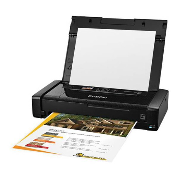 Epson WorkForce WF-100 A4 Wireless Mobile Colour Inkjet Printer Product Image 3