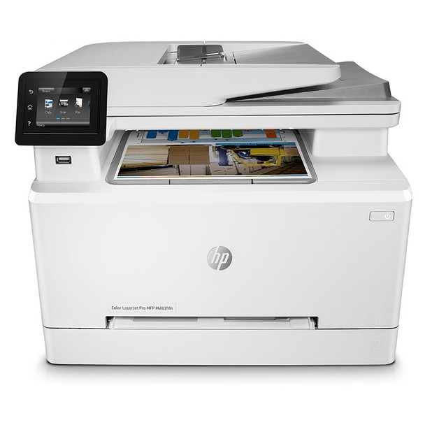 HP LaserJet Pro M283FDN A4 Colour MultiFunction Laser Printer Product Image 2