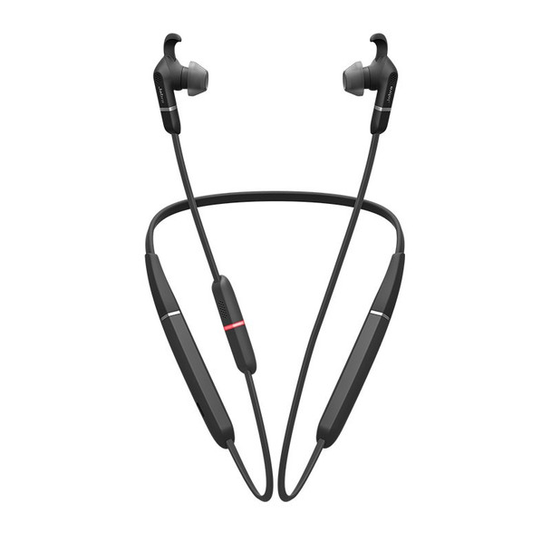 Jabra Evolve 65e UC Bluetooth In Ear Headset Mic Product Image 3