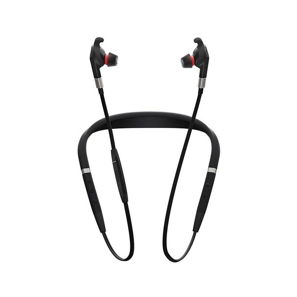 Jabra Evolve 75e MS ANC Bluetooth In Ear Headset With Built In Mic Product Image 3