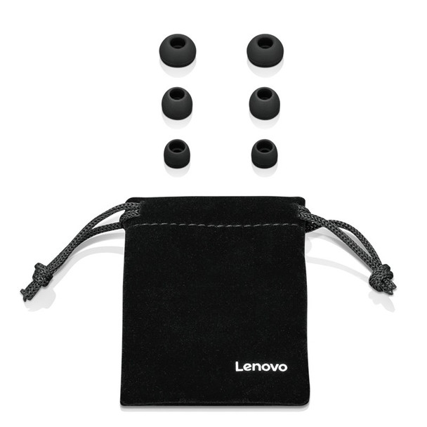 Lenovo 100 In-Ear Headphones - Black Product Image 3