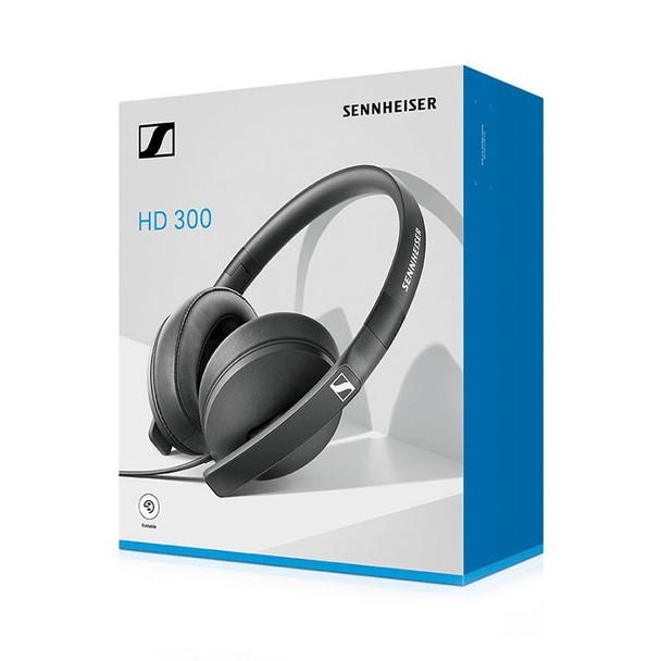 Sennheiser HD 300 Closed Back Headphones - Black Product Image 5