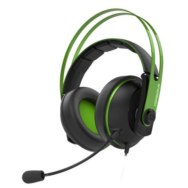 Image for Asus Cerberus V2 Gaming Headset - Green AusPCMarket