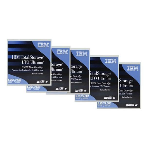 Image for Lenovo Ultrium 6 Data Cartridges 5 Pack AusPCMarket