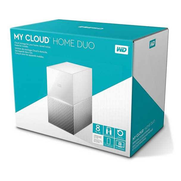 Western Digital WD My Cloud Home Duo 8TB Dual-Drive Personal Cloud Storage NAS Product Image 9