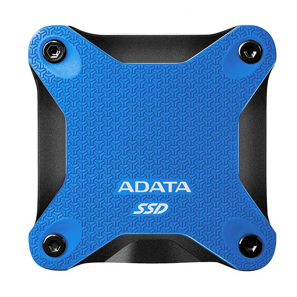 Adata SD600Q 240GB USB 3.2 Gen 1 Portable External 3D NAND SSD - Blue Product Image 2