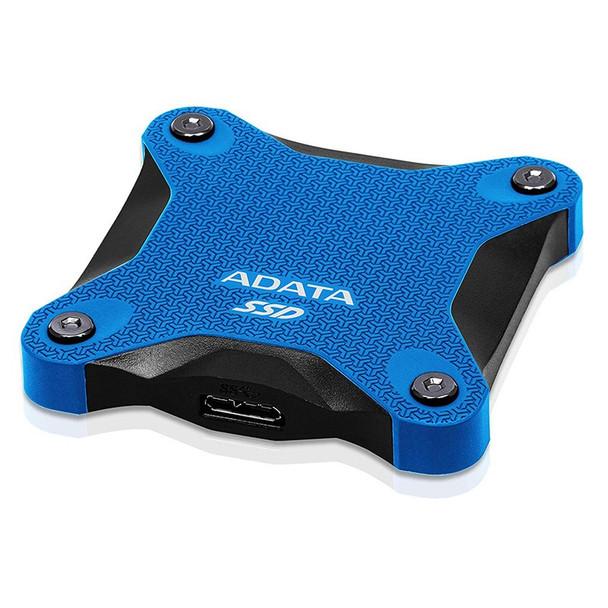 Adata SD600Q 240GB USB 3.2 Gen 1 Portable External 3D NAND SSD - Blue Product Image 3