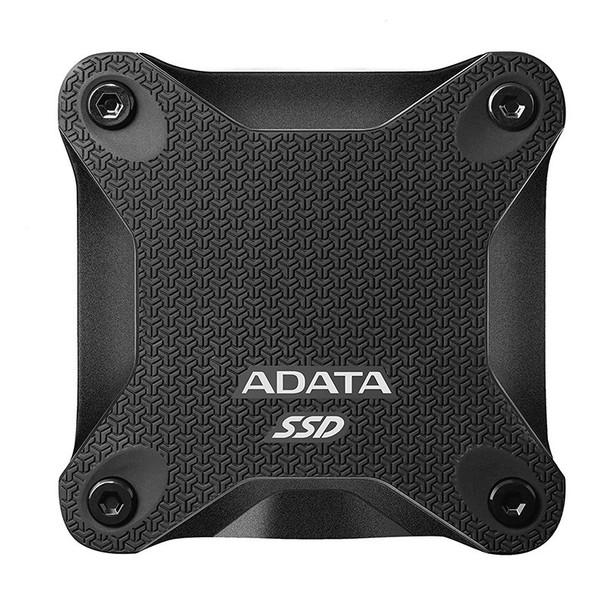 Adata SD600Q 480GB USB 3.2 Gen 1 Portable External 3D NAND SSD - Black Product Image 2