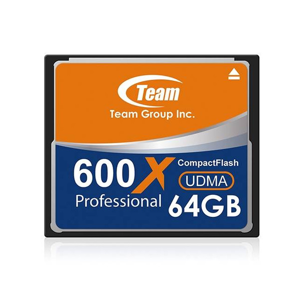 Image for Team CF600X 64GB Compact Flash CF Card - TCF64G60001 AusPCMarket