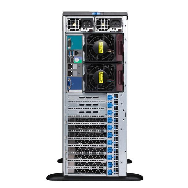 Supermicro SuperWorkstation 7049GP-TRT CPU (0/2) RAM (0/16) GPU (0/4) 2200W RPS Product Image 3