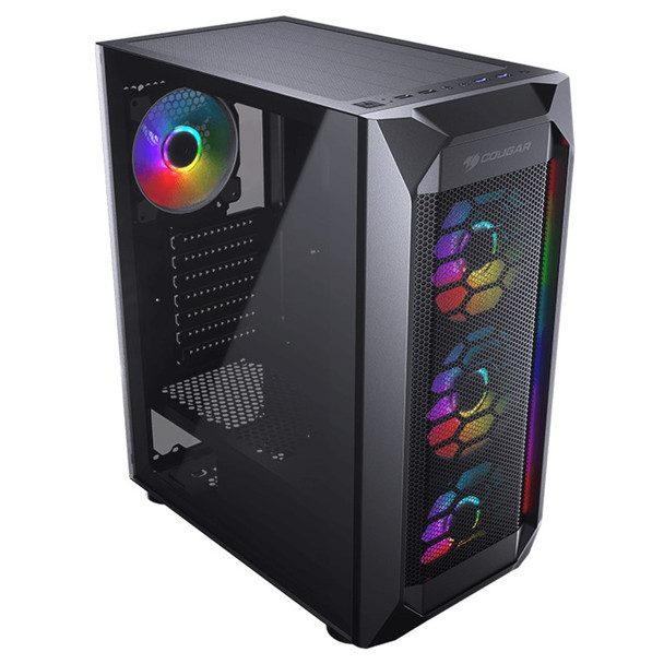 Cougar MX410 Mesh-G RGB Tempered Glass Mid-Tower ATX Case Product Image 5