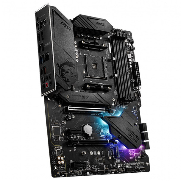 MSI MPG B550 GAMING PLUS AM4 ATX Motherboard Product Image 5
