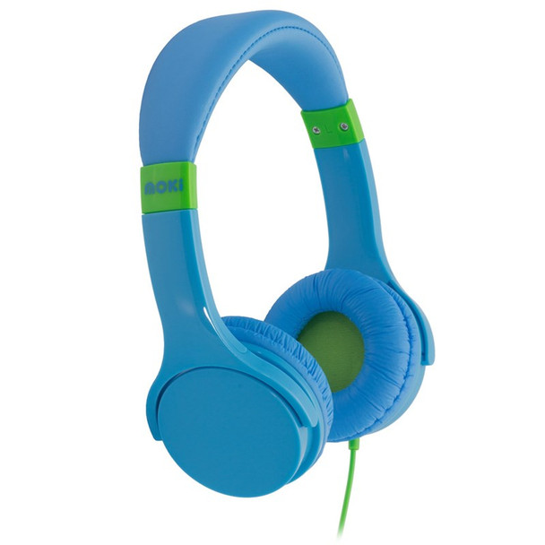Image for Moki Lil' Kids Headphones - Blue AusPCMarket